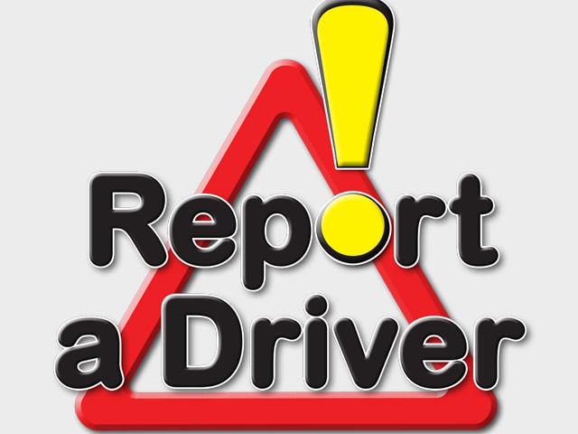 Report a Driver logo